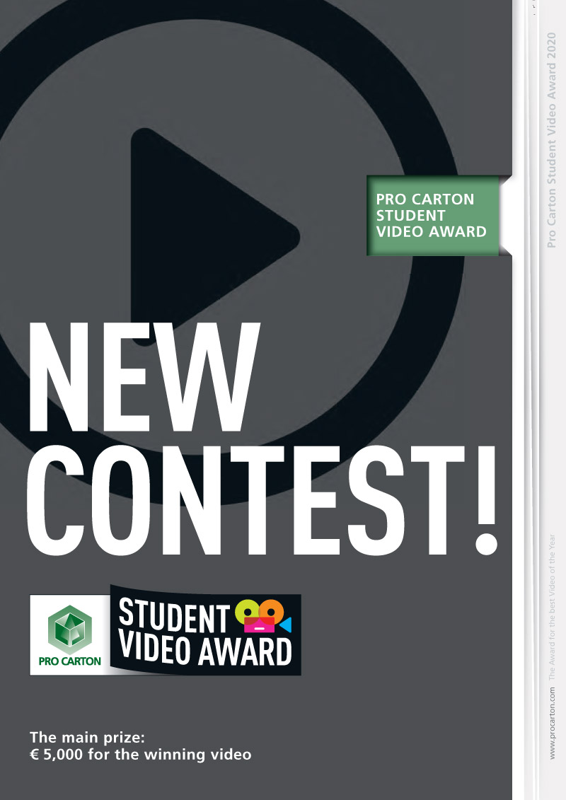 Pro Carton Student Video Award Brochure