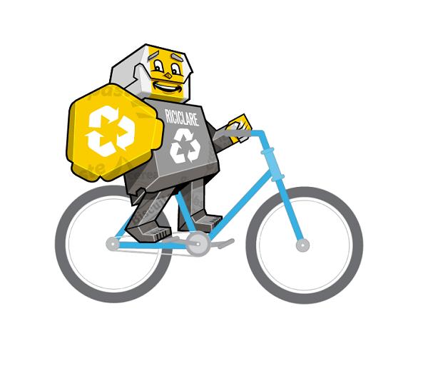 Lancio di Ricki Riciclare in occasione della Giornata Mondiale del Riciclaggio