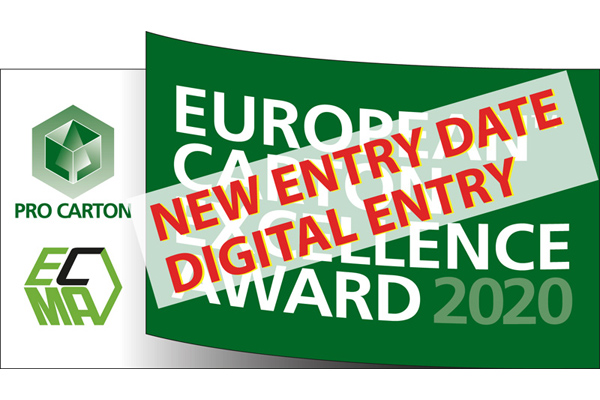 European Carton Excellence Award: new entry date and digital entry