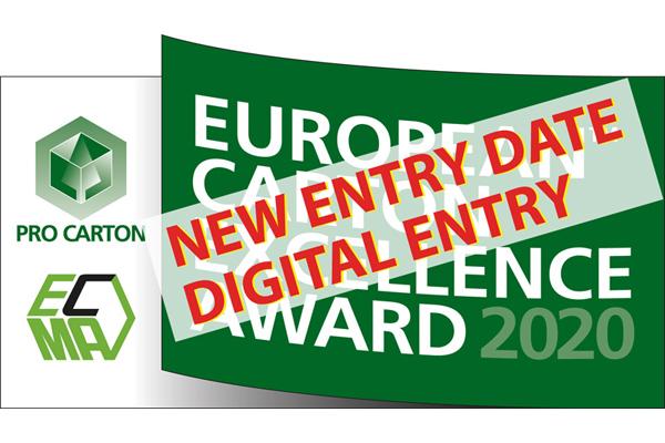 Concours European Carton Excellence Award : nouvelle date limite d'inscription et soumission des candidatures en ligne