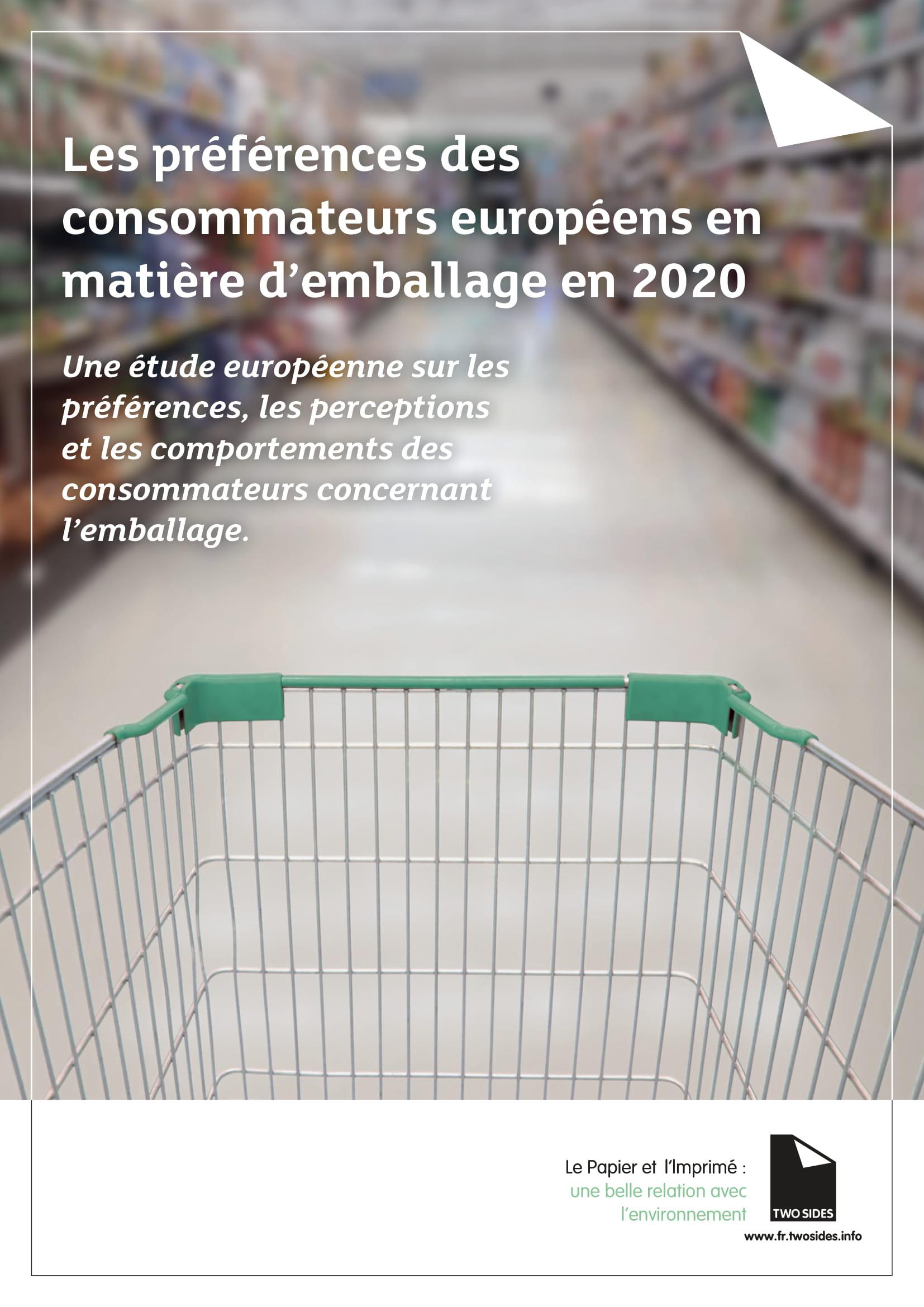 Les préférences des consommateurs européens en matière d'emballage en 2020