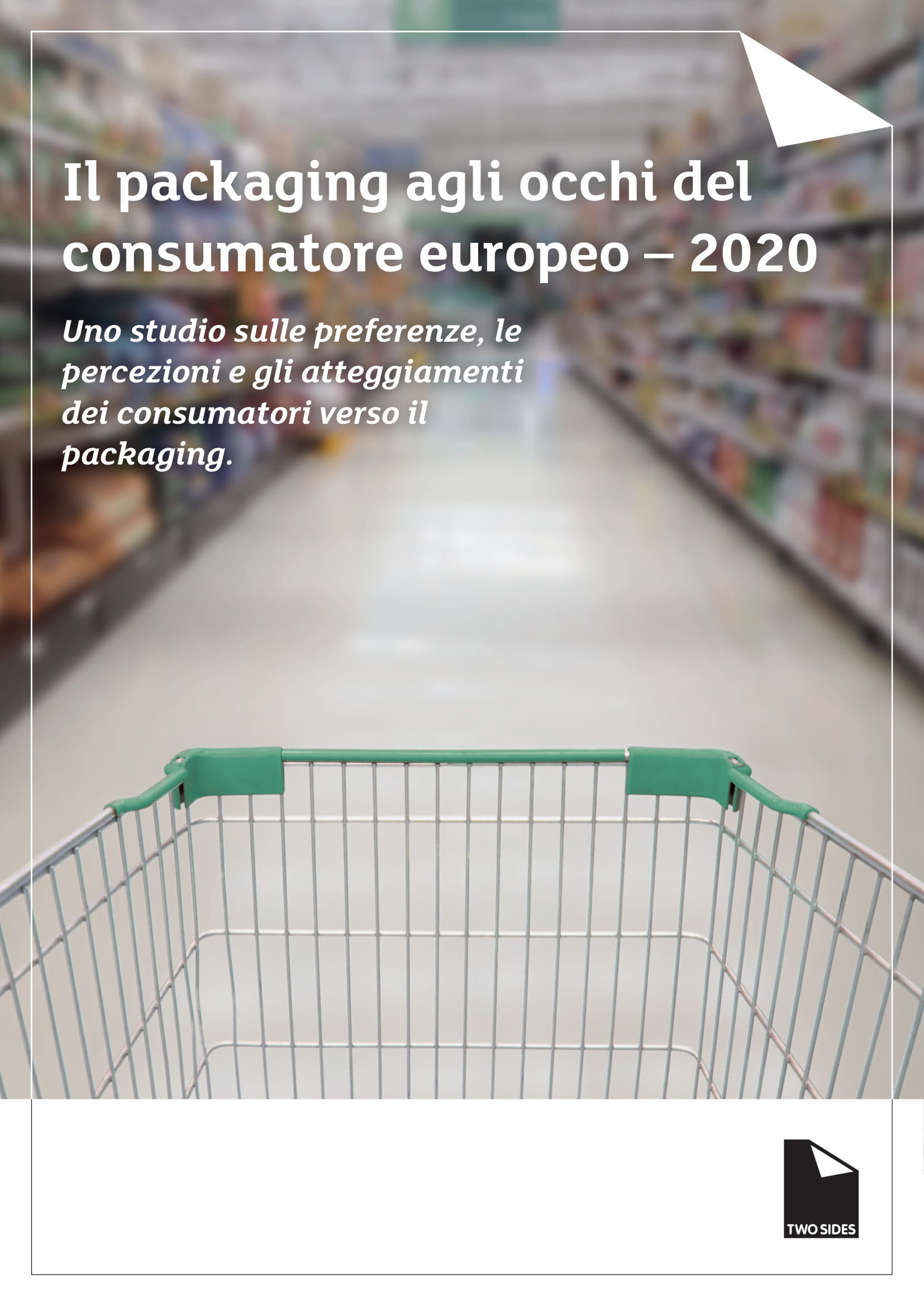 Il packaging agli occhi del consumatore europeo – 2020