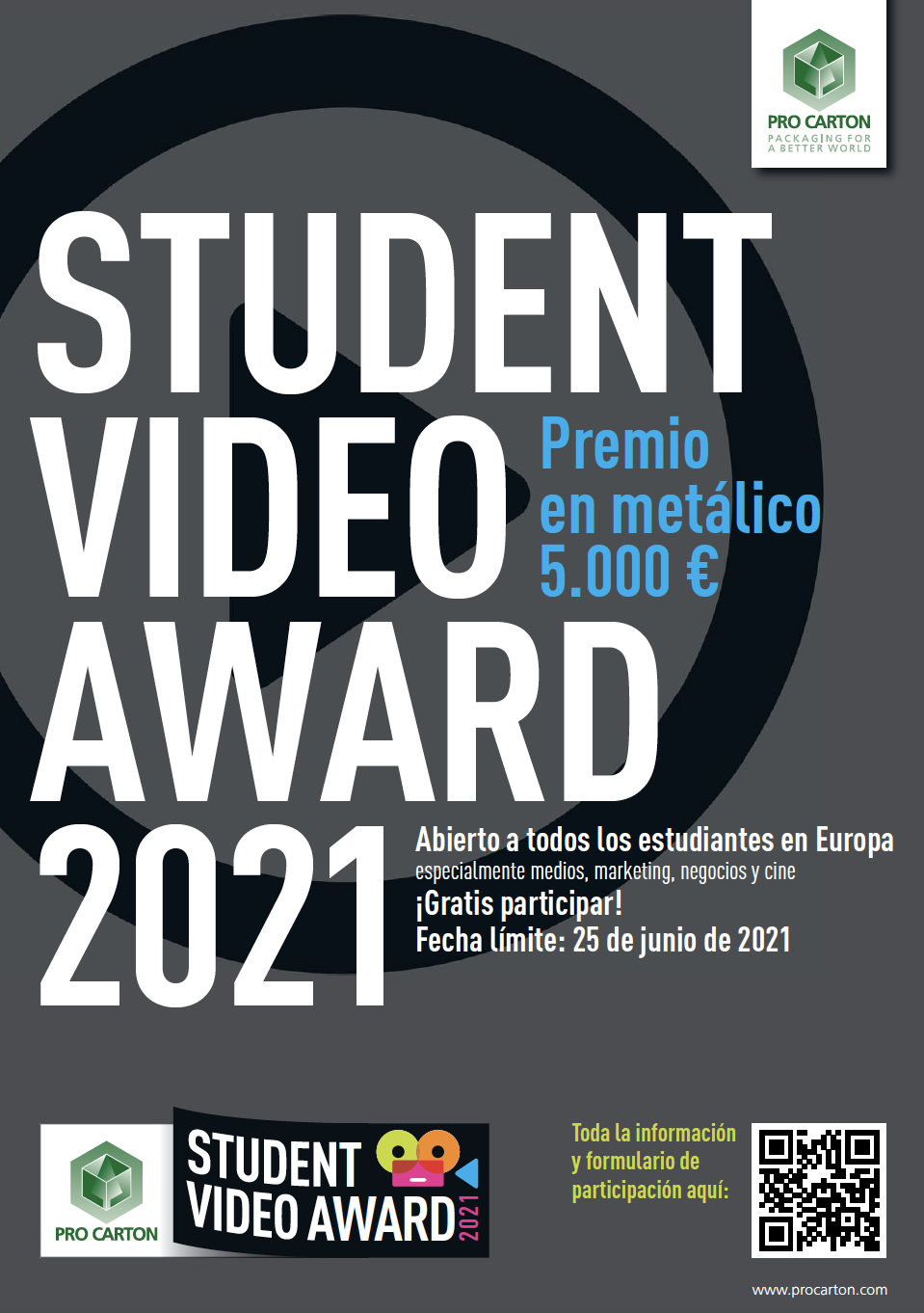 2021 Pro Carton Student Video Award