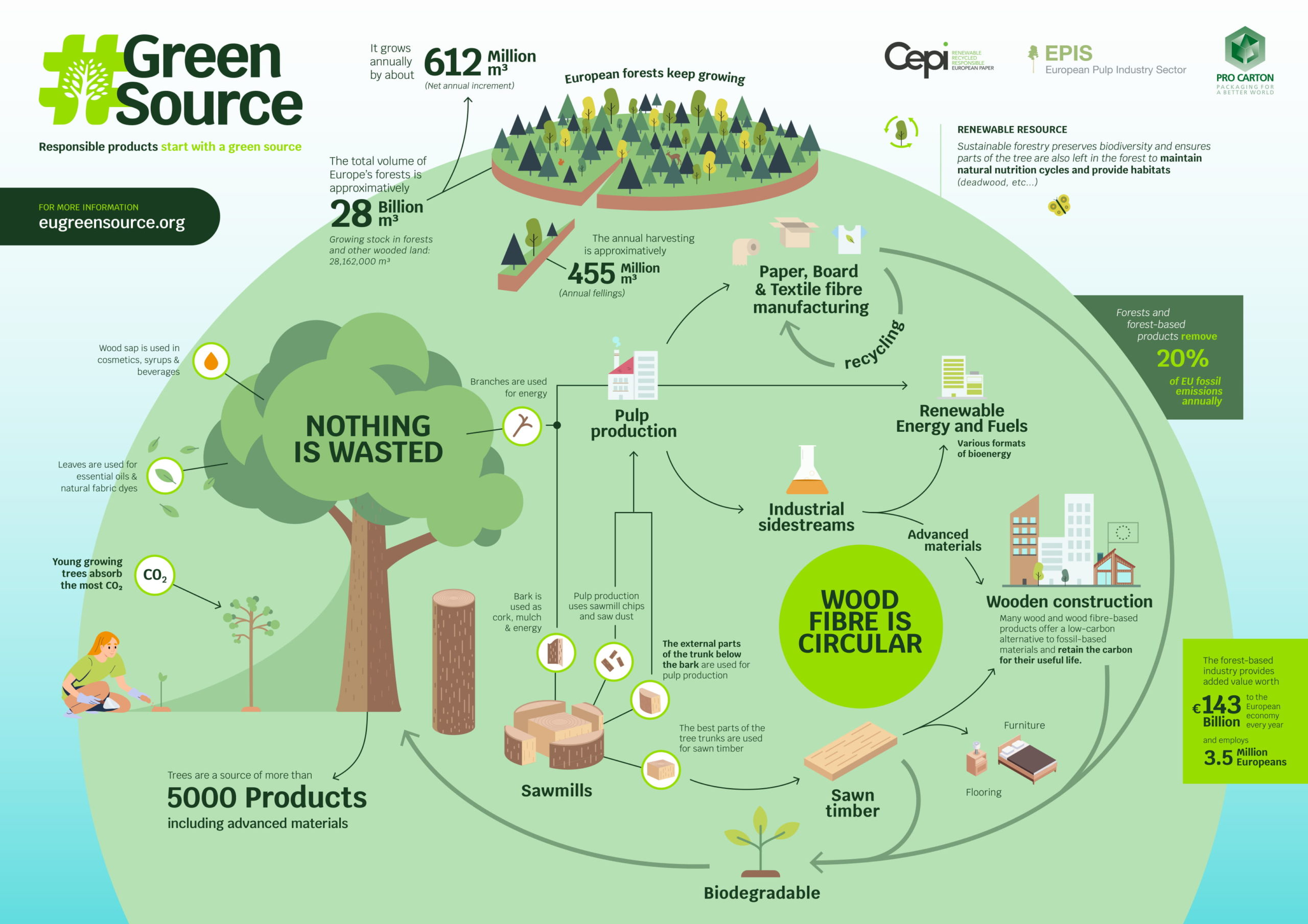 #GreenSource Infographic