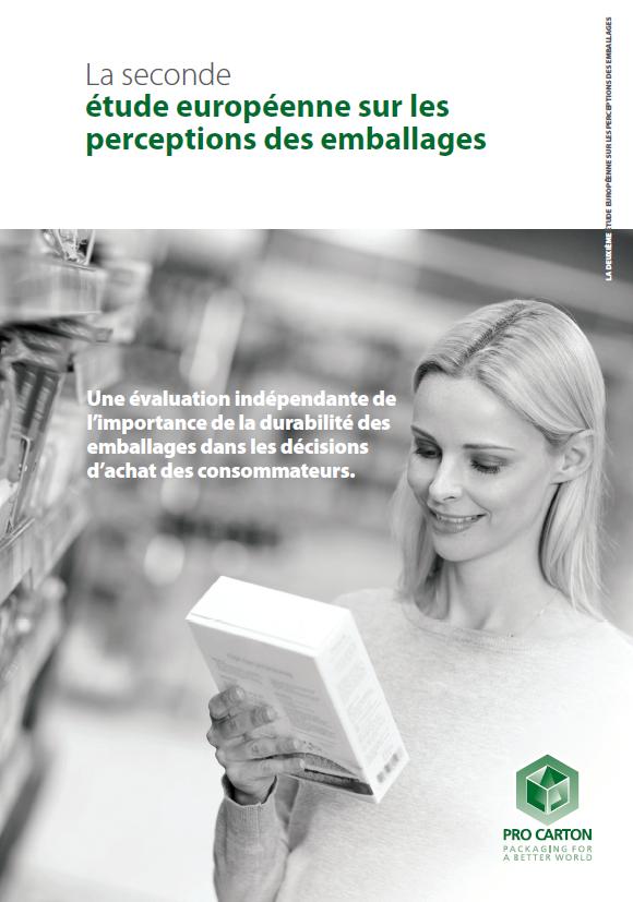 La seconde étude européenne sur les perceptions des emballages