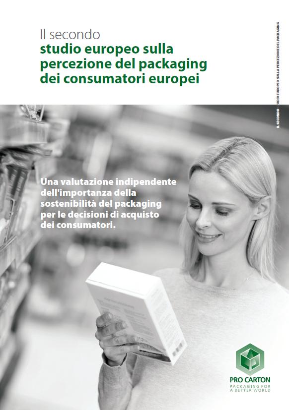 Il secondo studio europeo sulla percezione del packaging dei consumatori europei