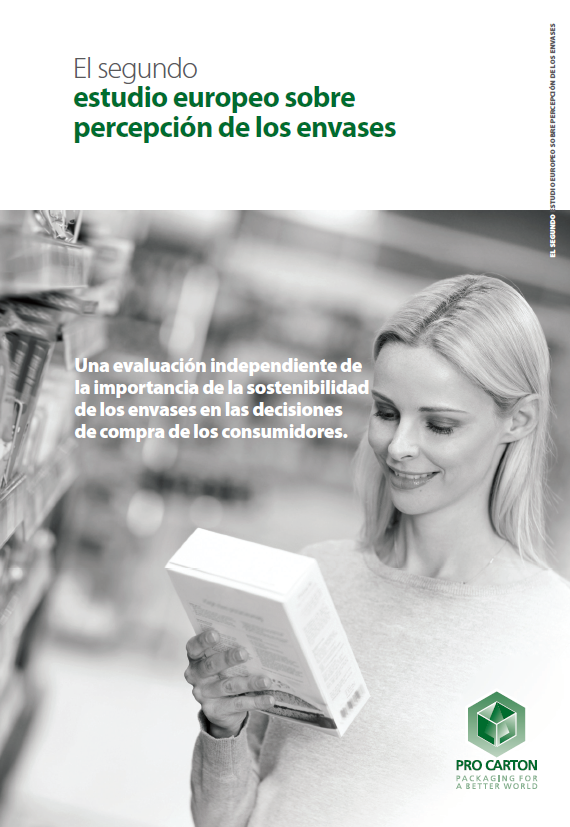 El segundo estudio europeo sobre percepción de los envases