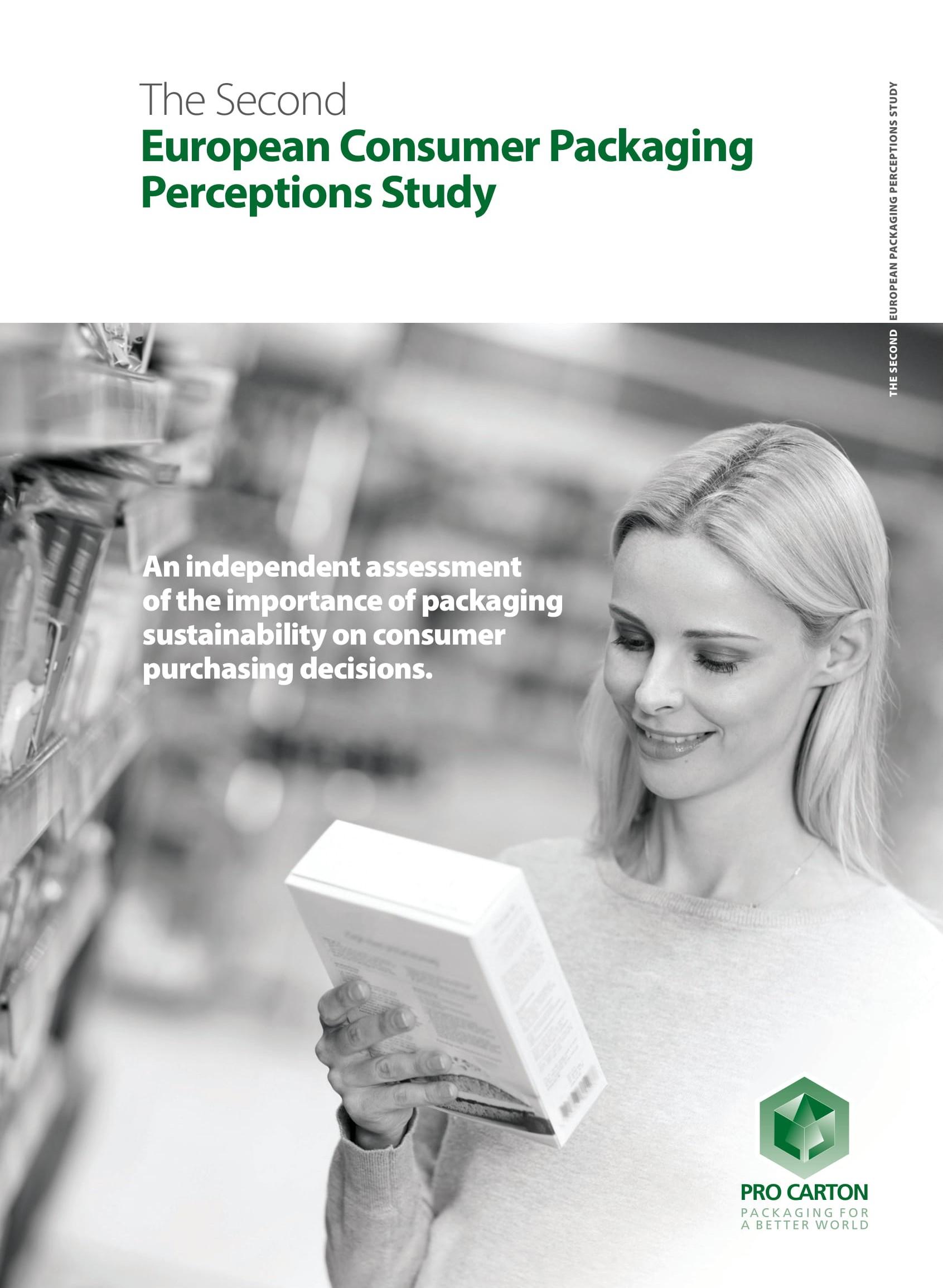 2nd European Consumer Packaging Perceptions Study