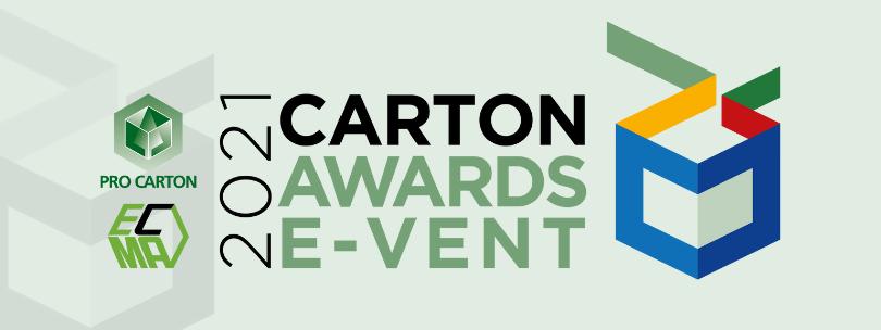Register for the 2021 Carton Awards E-vent