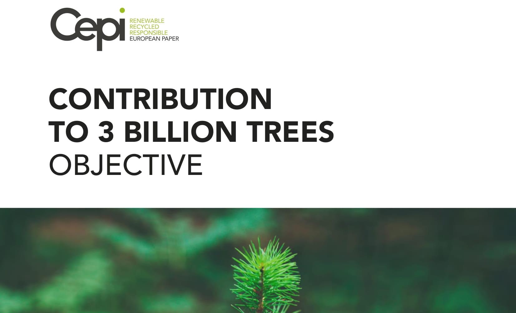 3 billion more trees!