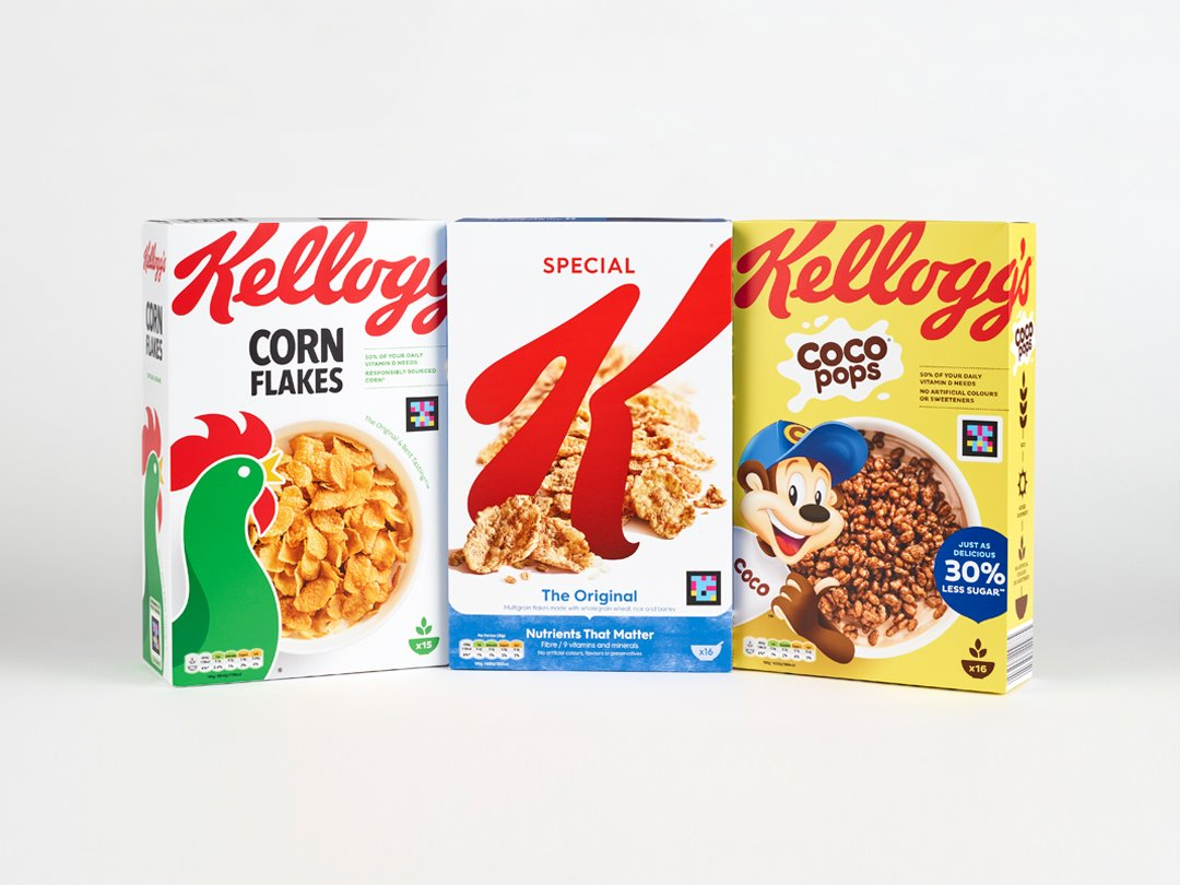 Kellogg's to roll out accessible cereal boxes