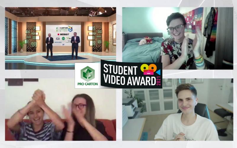 Der Pro Carton Student Video Award - einfach überwältigend!