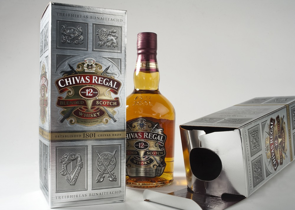 Chivas 12 years old carton