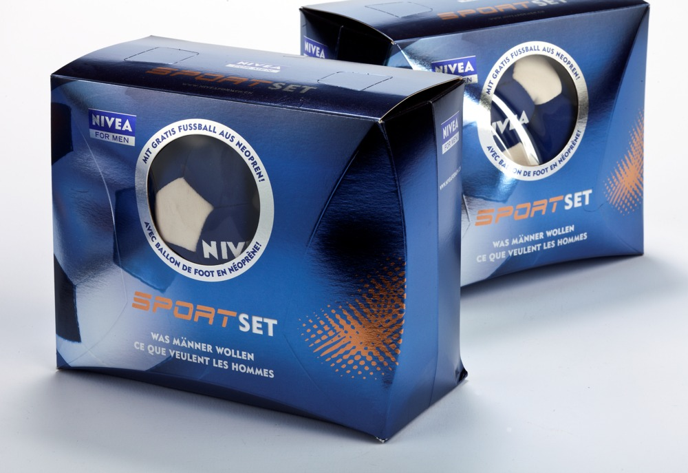 Nivea For Man Sportset: Promoverpackung