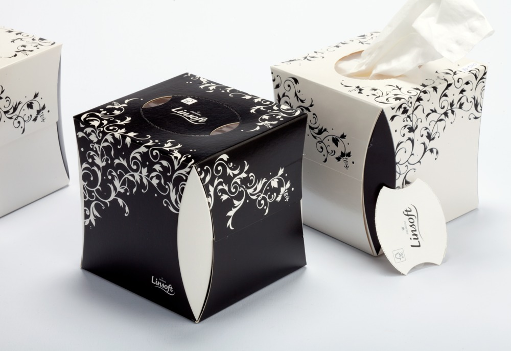 Migros Linsoft Facial Tissue Cube