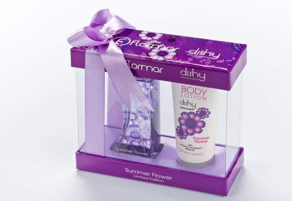 Flormar DISHY Summer Flower Edition Gift Set Carton