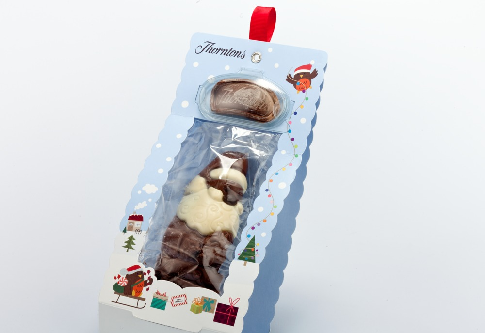 Thorntons Santa Model Card 'e' Bag