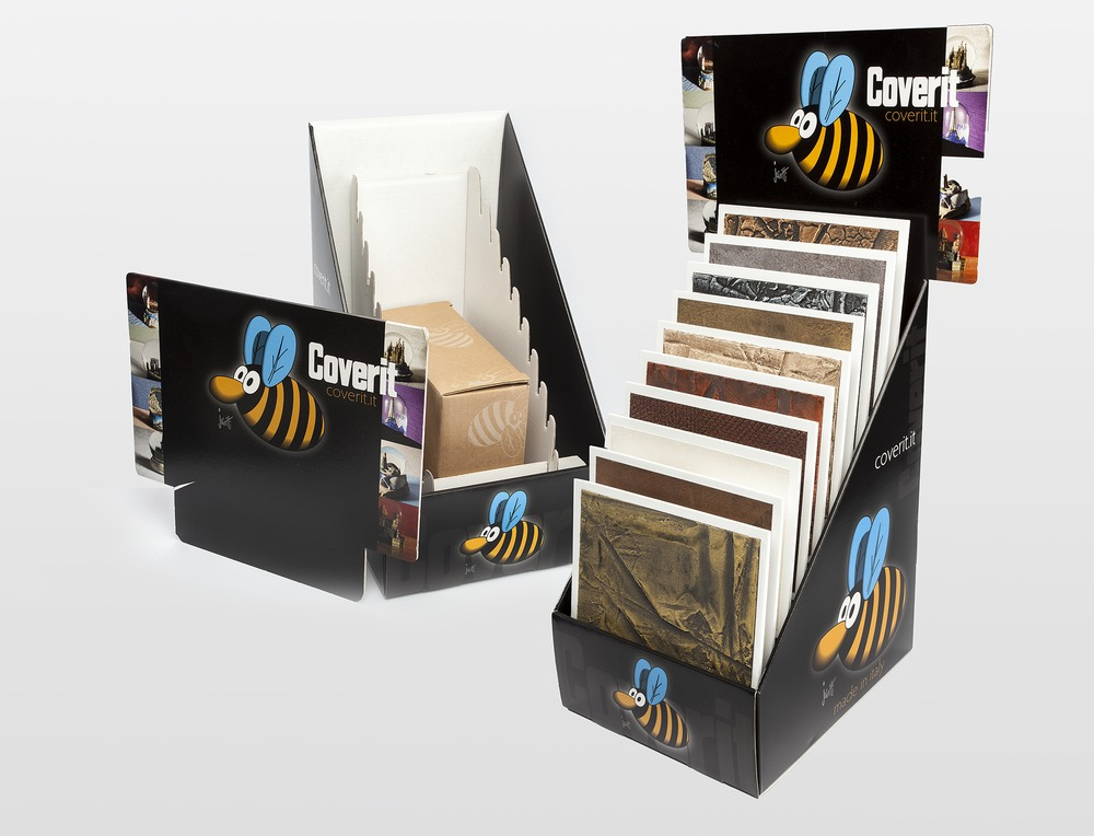 Coverit Samples Display