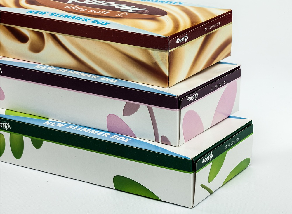 "Kleenex ""Slim"" Pack for Facial Tissues 2"