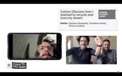 Carton Obscura – how I learnedto recycle and love my dream by Gianluca Quaranta, Yonathan Frantz, Simon Lamber