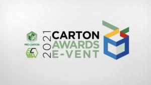 1. Welcome to the 2021 Carton Awards E-vent
