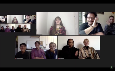 The finalists of the Pro Carton Student Video Award joined the e-vent via Zoom